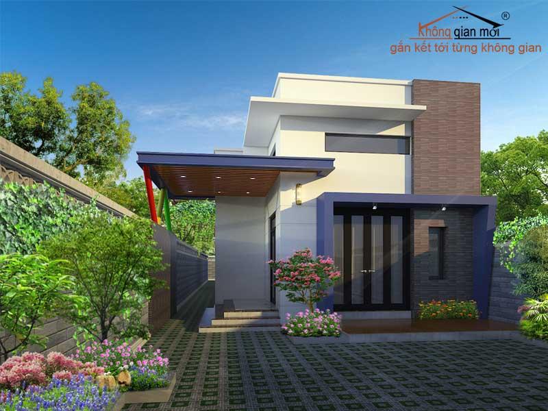 Thiết kế kiến trúc xây dựng nhà cấp 4 tại Di Linh - Lâm Đồng