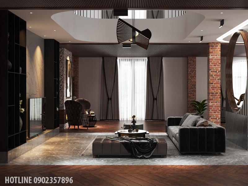 Mẫu thiết kế nội thất biệt thự hiện đại Hcm