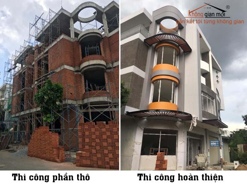 Thầu Thi công hoàn thiện xây dựng nhà Đà Lạt