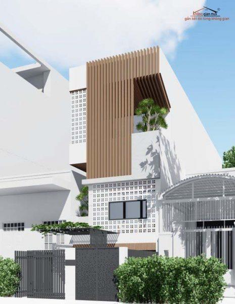 Thiết kế nhà phố tại Bảo Lộc