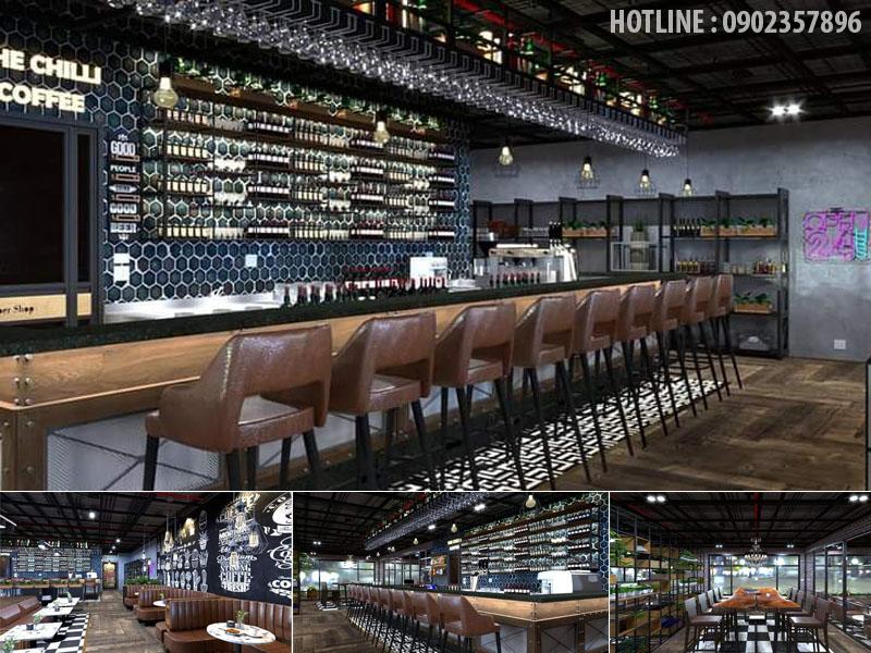Thiết kế nhà hàng Đồng Nai