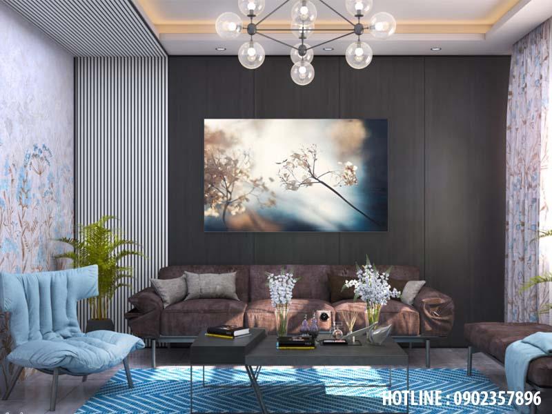 Thiết kế nội thất nhà phố phong cách địa trung hải
