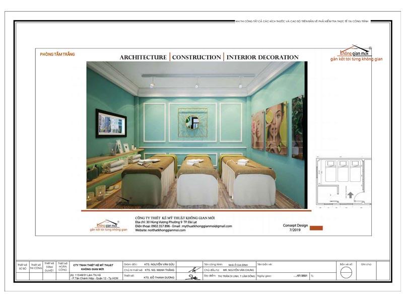 Thiết kế Spa HaNa