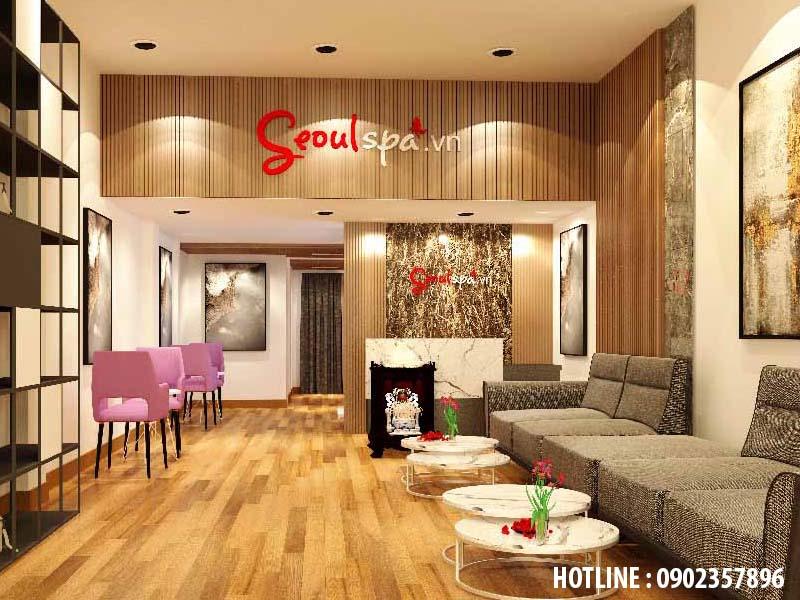 Thiết kế nội thất hệ thống spa seoul