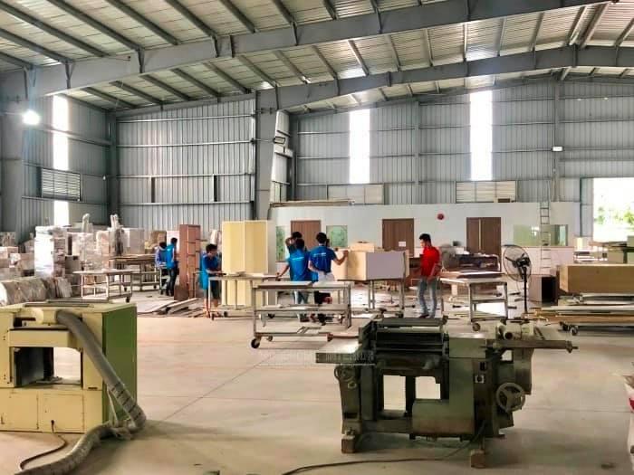 Hình ảnh xưởng sản xuất thi công đồ gỗ nội thất tại Đà Nẵng