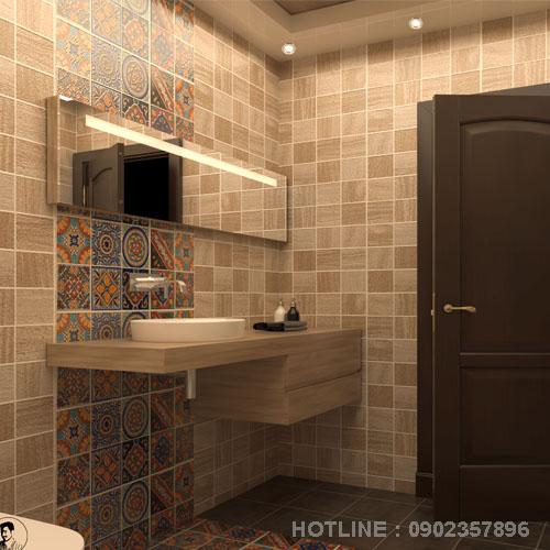 Bố Trí Phòng Tắm 3m2