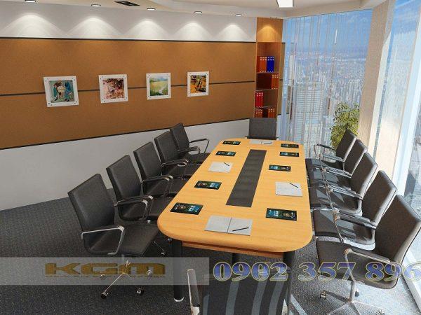 Một không gian văn phòng do Không Gian Mới thi công và thiết kế