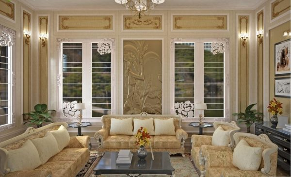 Nẹp nhôm trang trí nội thất sang trọng hiện đại