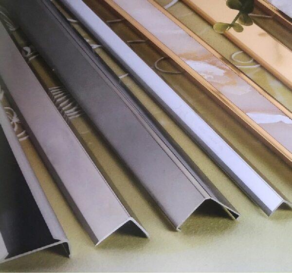 Nẹp chữ V được sử dụng rộng rãi trong trang trí nội thất
