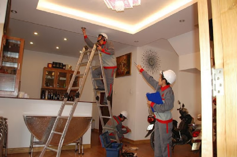 Công tác sửa chữa nhà tại Thuận An