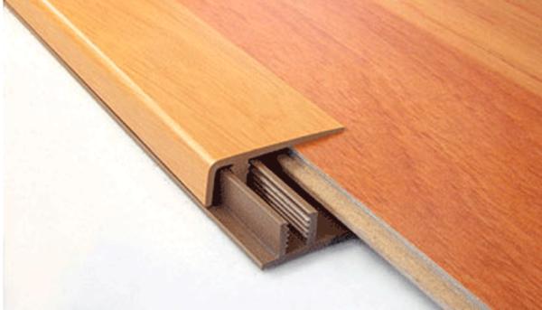 Nẹp sàn nhựa vân gỗ có giá thành rẻ, tiệp màu với sàn