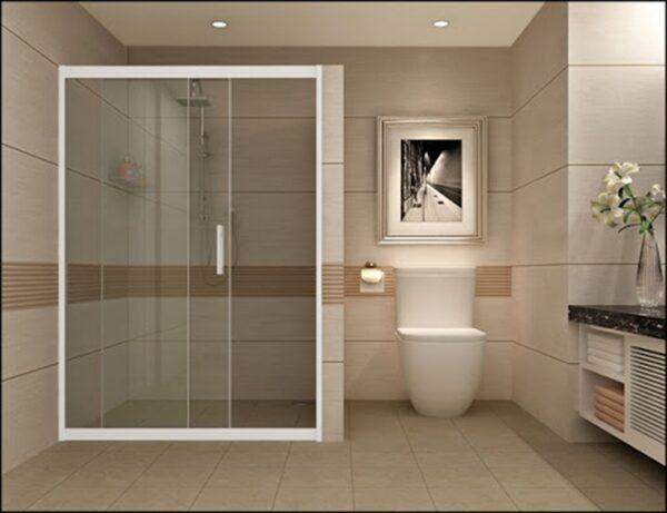 Nẹp inox vách kính thích hợp làm nẹp cửa kính cường lực cho phòng tắm