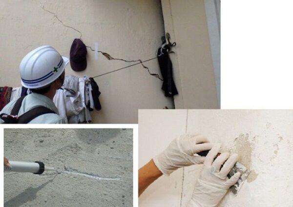 Cách sửa chữa nhà bị nứt tường vô cùng hiệu quả