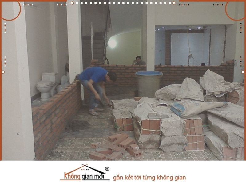 Những hạng mục của dịch vụ sửa nhà tại Dầu Tiếng