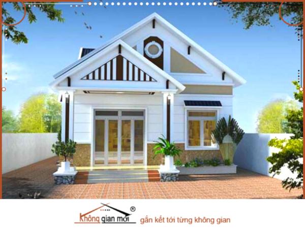 Mẫu nhà lấy tone mà trắng đen làm chủ đạo khiến ngôi nhà trở nên vô cùng nổi bật