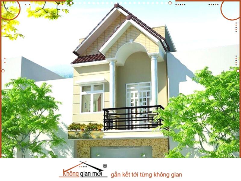Mẫu nhà phố liền kề kiểu Thái có thiết kế nổi bật và thích hơp theo phong cách của các khu đô thị hiện đại.