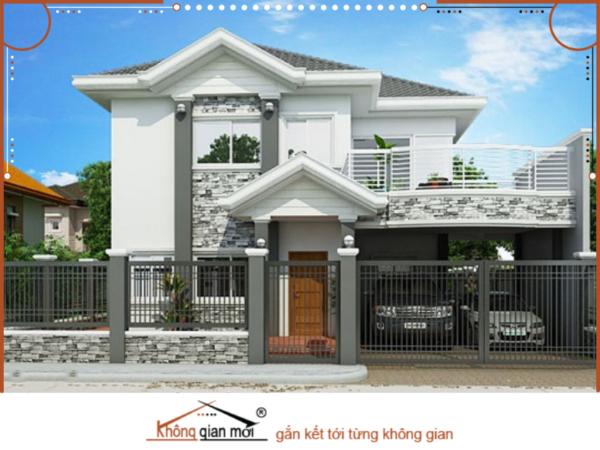 Mẫu nhà phố được xây dựng theo lối kiến trúc Thái cũng được lòng rất nhiều người