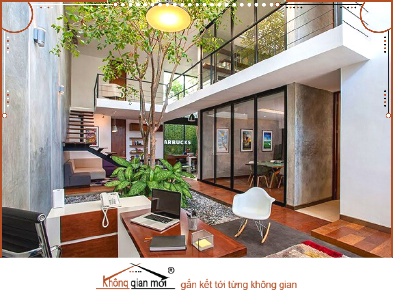 Thiết kế nhà ở ưu tiên các vật liệu từ tre gỗ vừa thân thiện với môi trường vừa tạo cảm giác thư giãn thoải mái khi đặt chân về nhà.