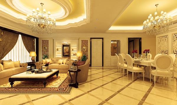 Ngôi nhà theo phong cách cổ điển thì không cần bàn cãi về độ sang trọng cũng như đẳng cấp