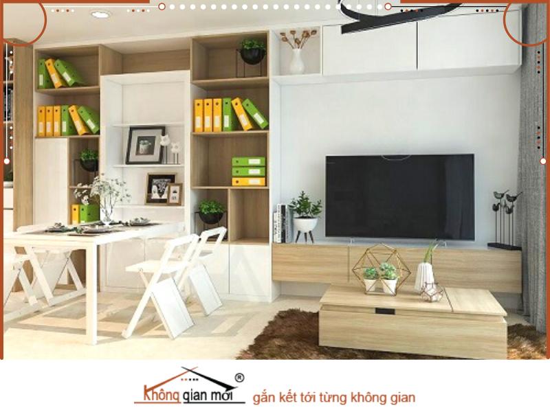Những món đồ nội thất đa công năng đang rất được các bạn trẻ ưa chuộng vì sự tiện lợi của nó