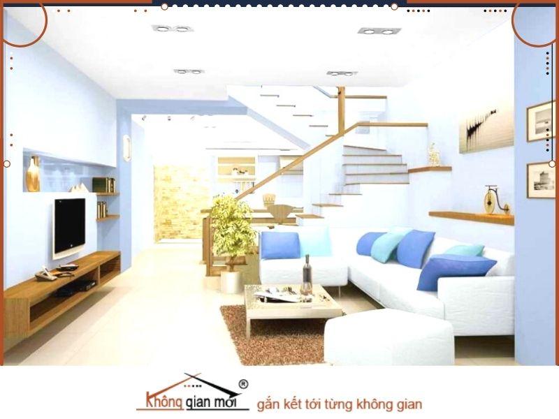 Cách phối màu sơn phòng khách theo phong thủy