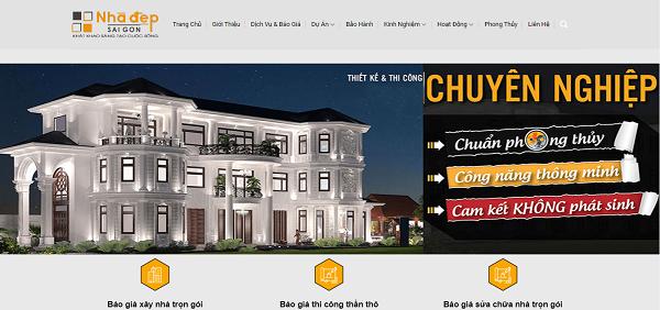 Công ty TNHH Đầu Tư Xây Dựng Và Thiết Kế Nhà Đẹp là một trong những công ty thiết kế và xây dựng hàng đầu Việt Nam