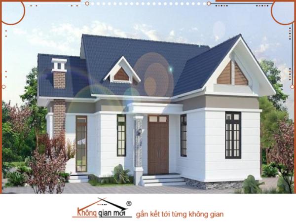 Mẫu nhà theo phong cách cổ điển phương Tây lạ mắt với các không gian xanh quanh nhà mát mẻ