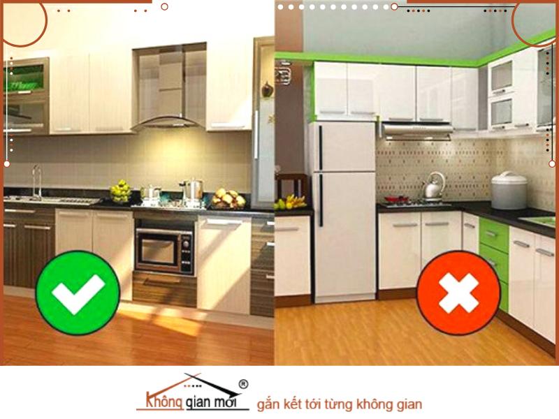 Phòng bếp cũng cần chọn hướng cửa và hướng bếp cho phù hợp với từng mệnh của gia chủ