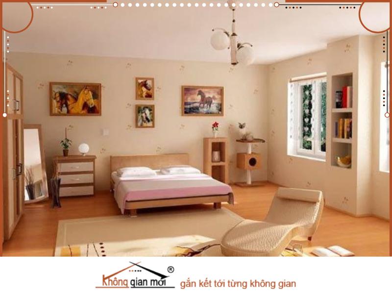 Đặt vị trí giường ngủ hợp phong thủy cũng là điều quan trọng đáng để lưu ý khi sửa chữa không gian phòng ngủ