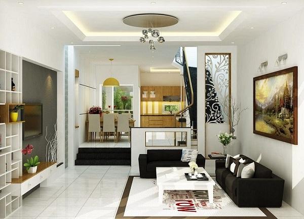 Cách trang trí ấm áp, hiện đại cho phòng khách