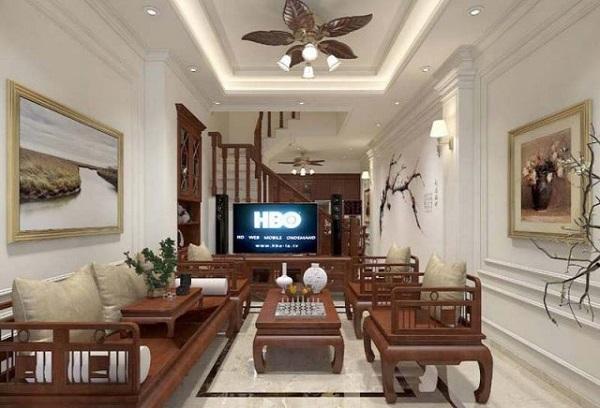 Phong cách trang trí phòng khách cổ điển, bắt mắt